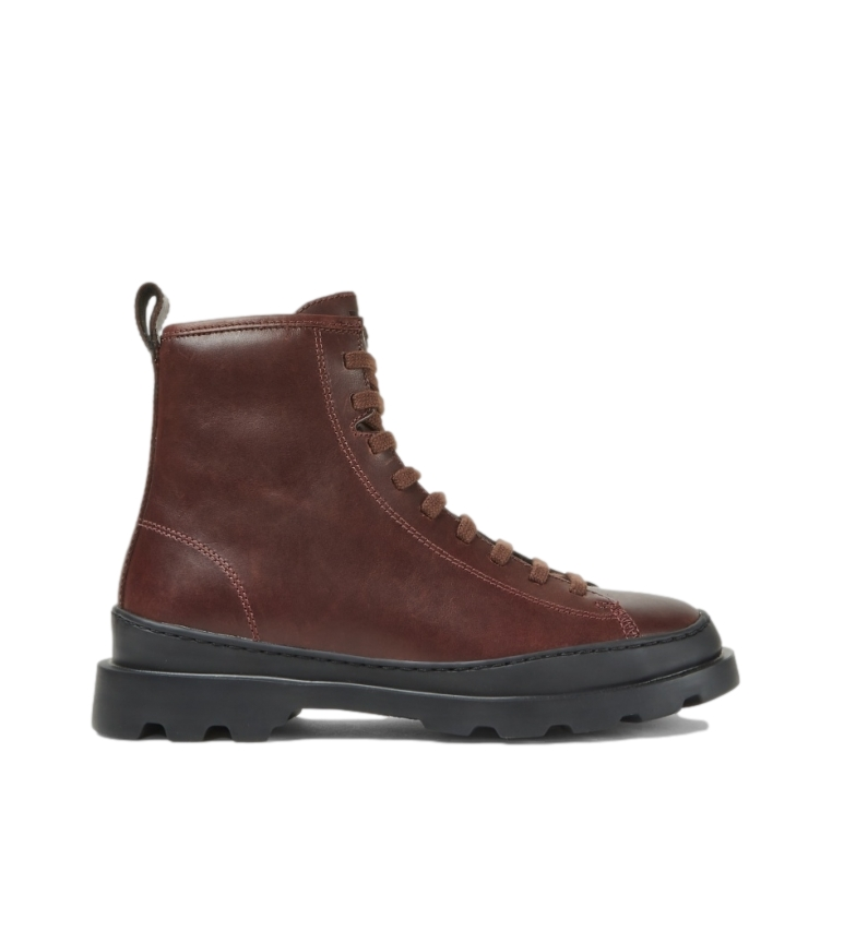 CAMPER Brutus brown leather boots