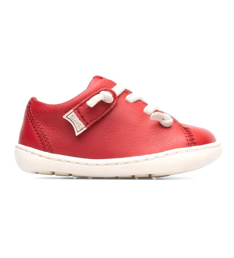 Comprar CAMPER Chaussures en cuir Peu rouge