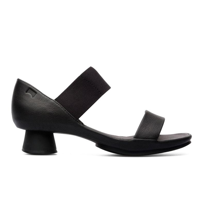 Comprar CAMPER Sandalias de piel Alright negro -Altura tacón: 4.8cm-