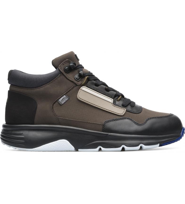 Comprar CAMPER Botas de couro castanho para tornozelo Brown Drift