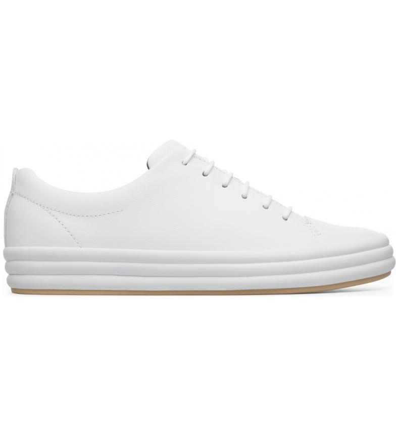 Comprar CAMPER Sapatos de couro Hoops branco