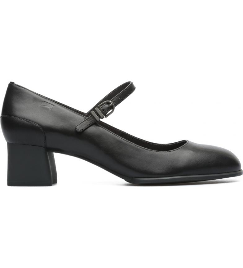 CAMPER Katie scarpe di pelle nera -Altezza del tacco: 5,1cm
