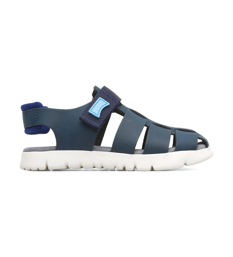 Comprar CAMPER Sandalias de piel Oruga azul