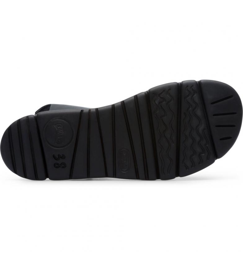 Comprar CAMPER Sandálias de couro OrugaSand preto