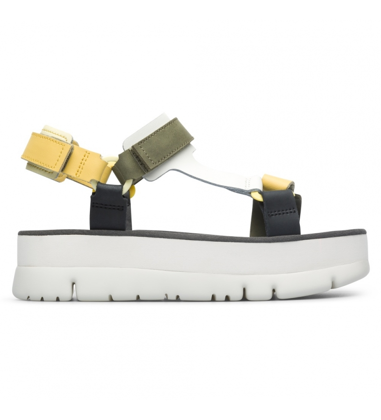 Comprar CAMPER Sandálias em estacas Oruga Up S.Houston multicolor -Altura da prancha: 4,2 cm
