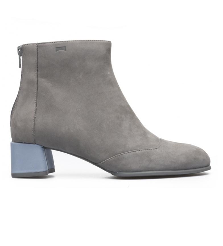 Comprar CAMPER Botines de piel K40035 gris -Altura tacón: 5,1cm-