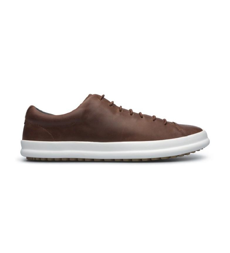 Comprar CAMPER Zapatos de piel Chasis K100373 marrón