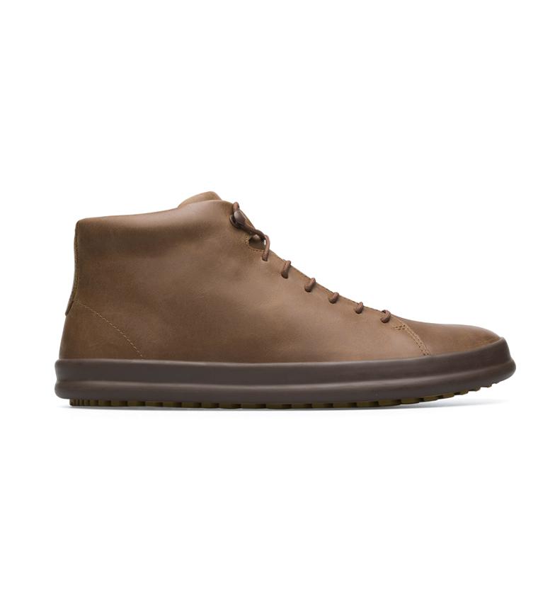 CAMPER Sapatos de couro Chassis castanho