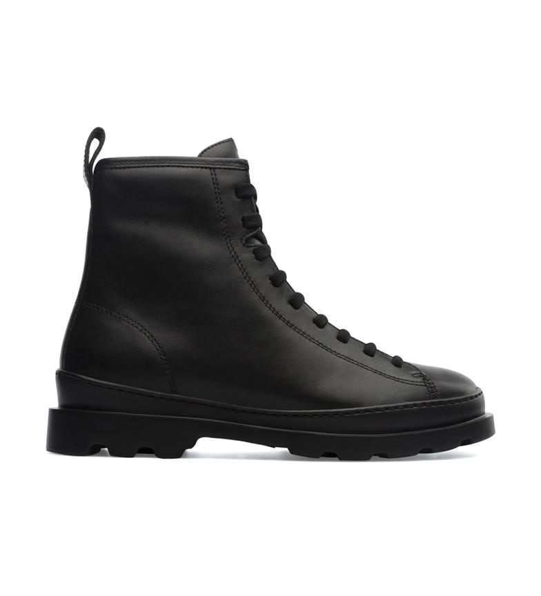 Comprar CAMPER Black Brutus leather boots