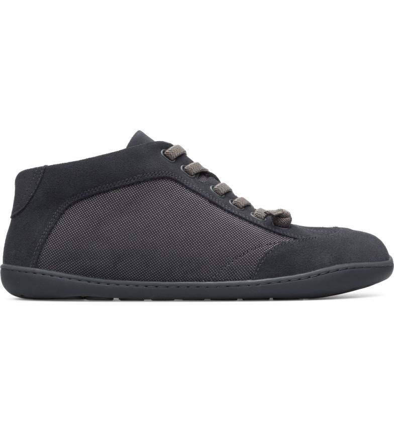 Comprar CAMPER Peu Cami leather sneakers grey, black