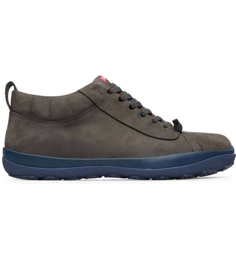 CAMPER Peu Pista GM scarpe in pelle grigio, blu