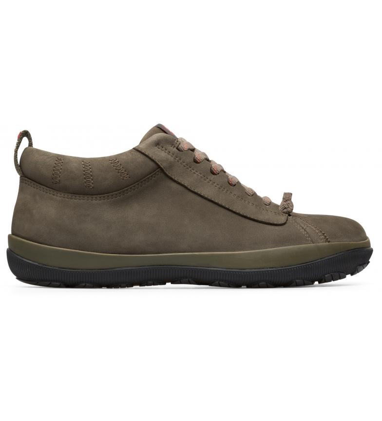 CAMPER Leather sneakers Peu Pista GM green
