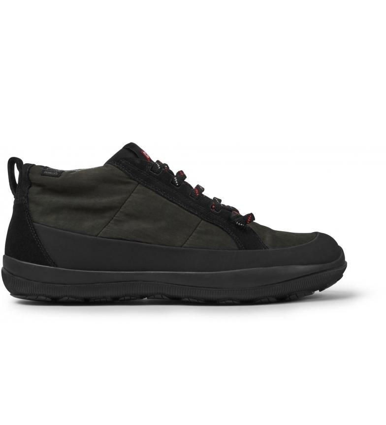 CAMPER Zapatos de piel Peu Pista negro