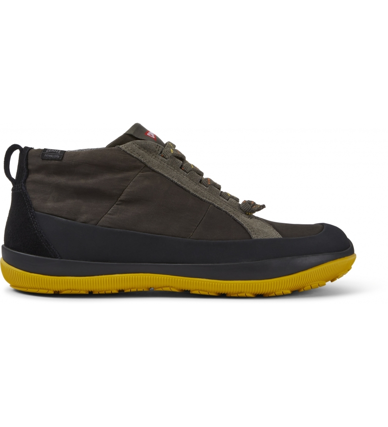 CAMPER Peu Pista green leather shoes