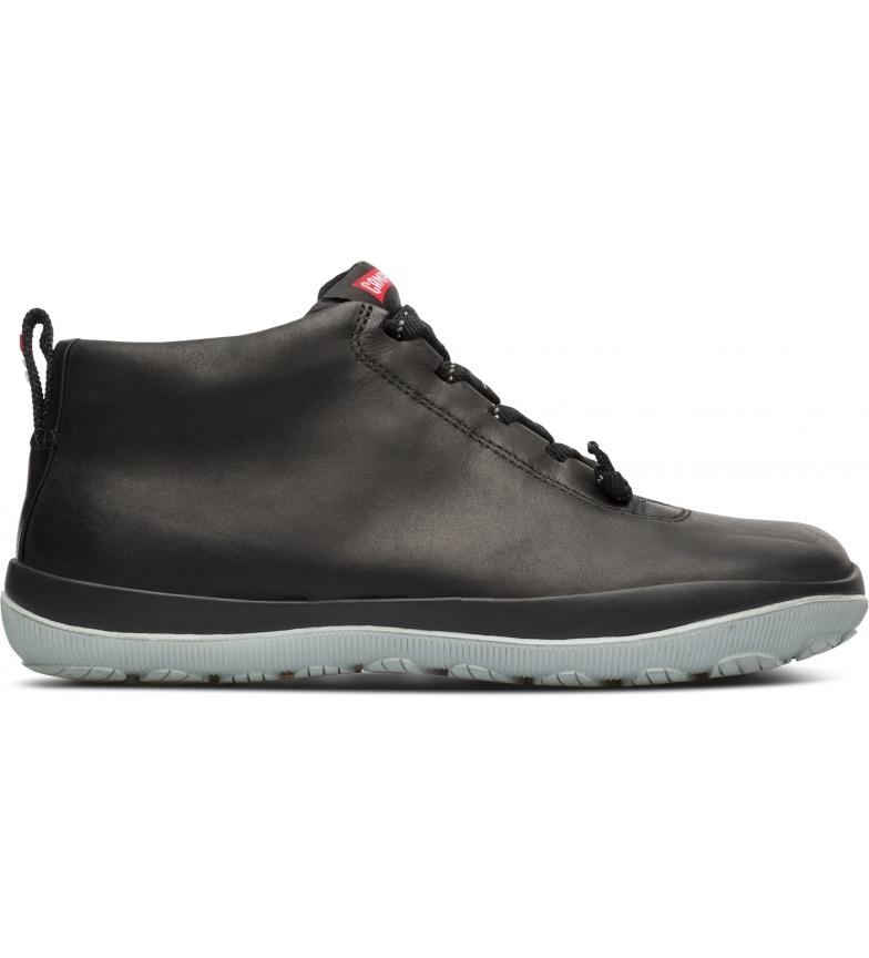 CAMPER Peu Pista GM black leather sneakers