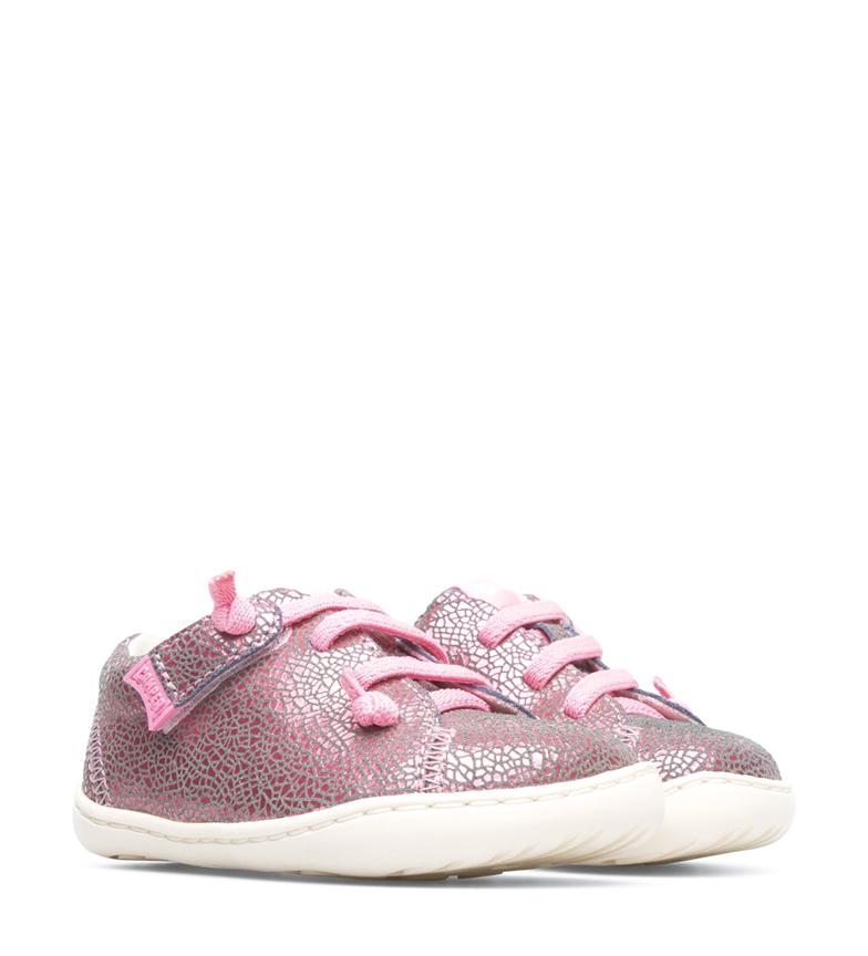 Comprar CAMPER Zapatillas de piel Peu beige