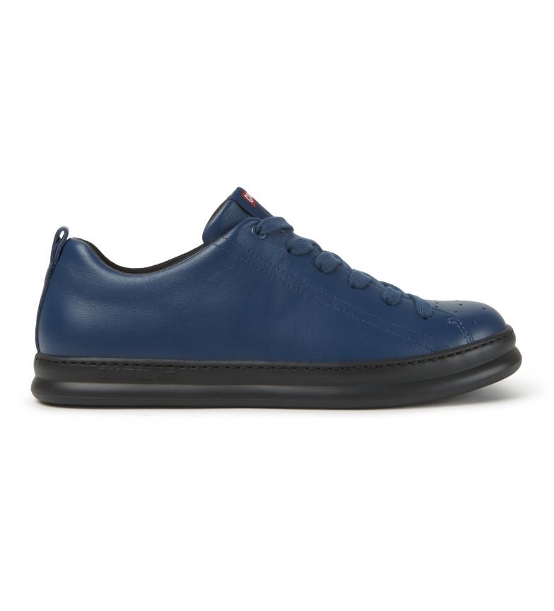 CAMPER Sneakers Runner in pelle blu, nere
