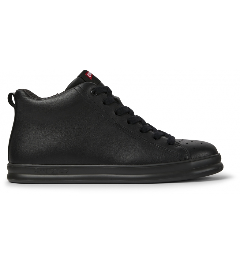 CAMPER Chaussures Runner Four en cuir noir
