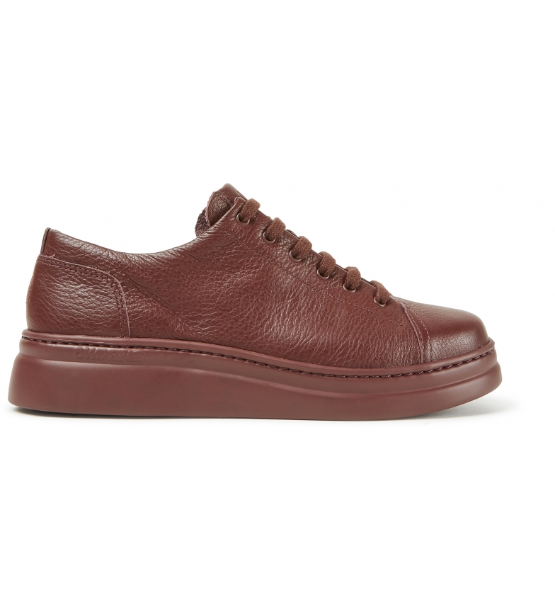 CAMPER Runner Up brown leather shoes