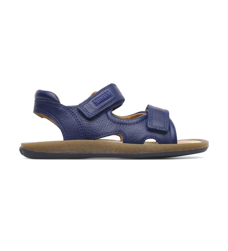 Comprar CAMPER Sandálias de couro da marinha Bicho