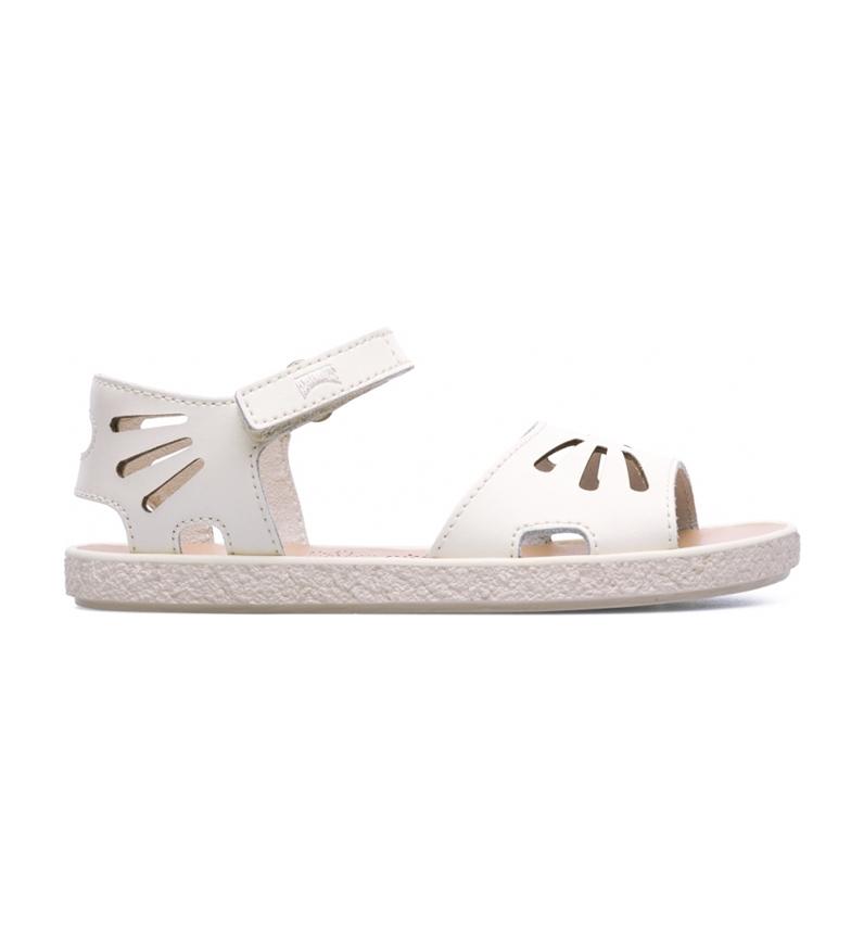 Comprar CAMPER Sandalias de piel Miko blanco roto