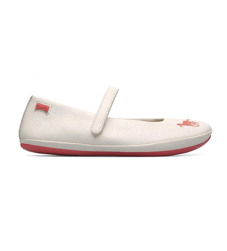 Comprar CAMPER Jumeaux sandales en cuir blanc cassé