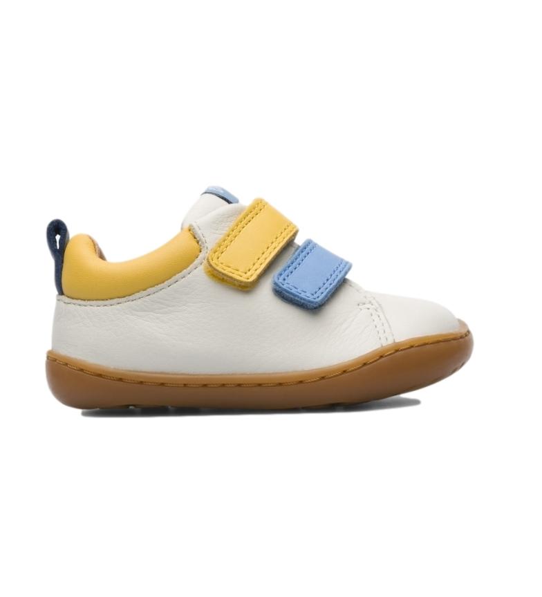 Comprar CAMPER Pantoufles en cuir beige Peu K800405