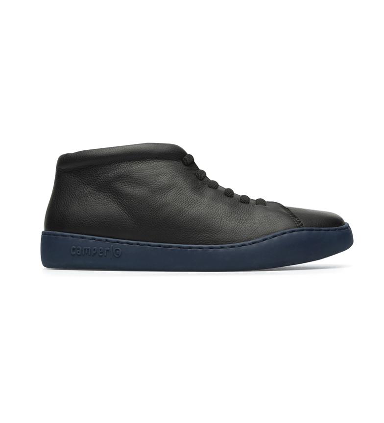 CAMPER Peu Toruring leather shoes black