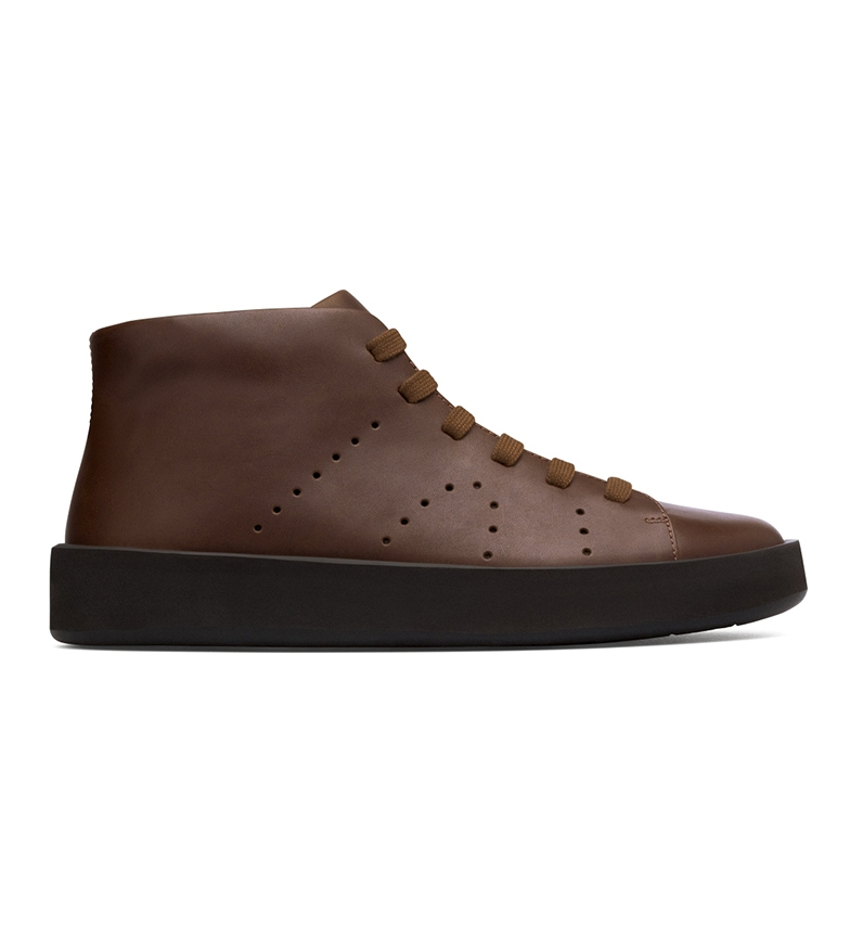 Comprar CAMPER Courb brown leather sneakers