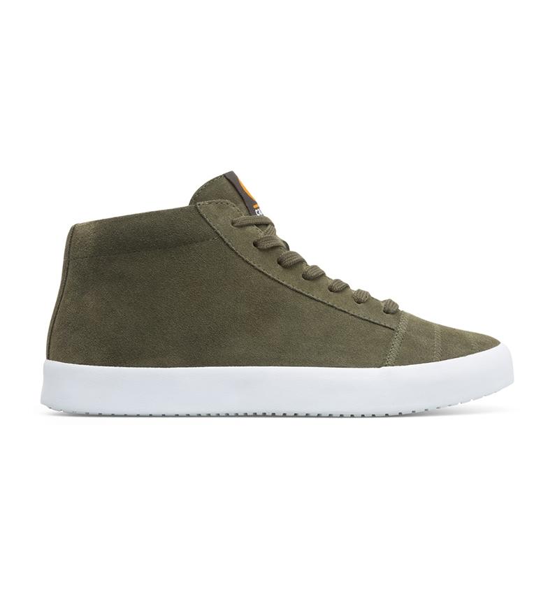 Comprar CAMPER Zapatillas de piel Imar verde