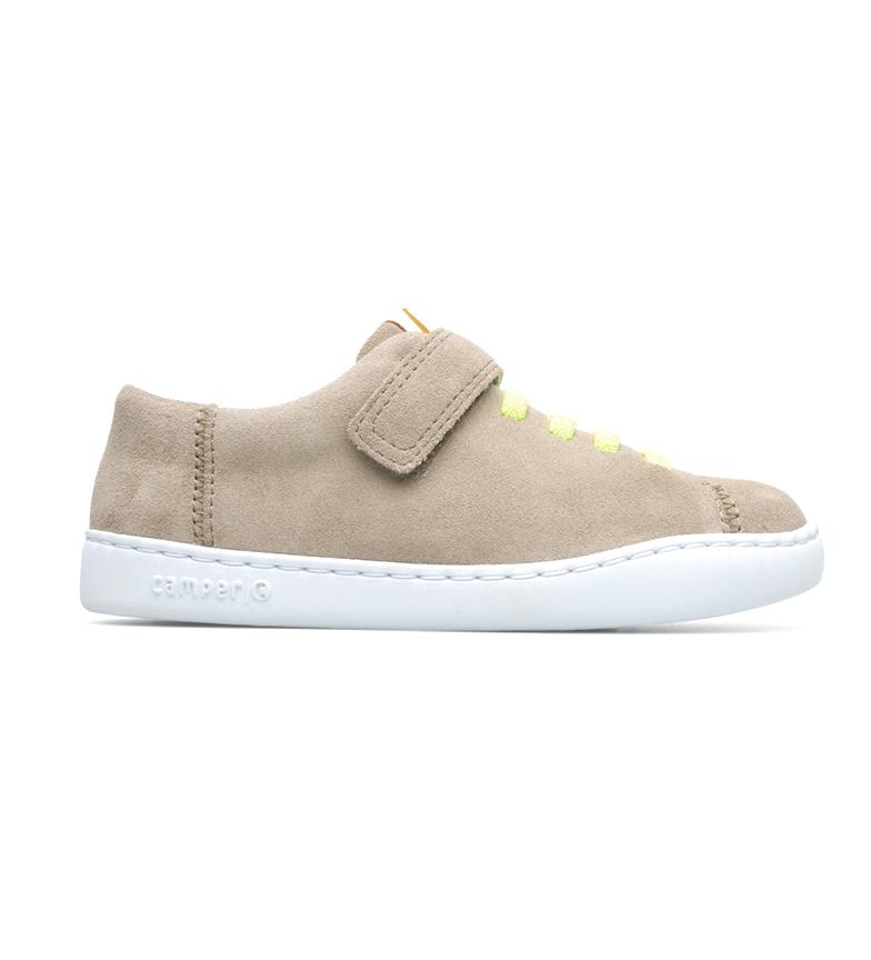 Comprar CAMPER Peu beige leather sneakers