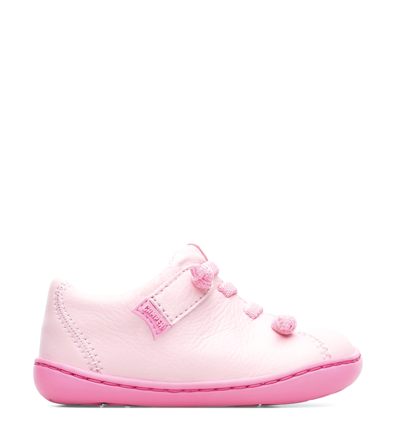 Comprar CAMPER Peu scarpe di pelle rosa chiaro