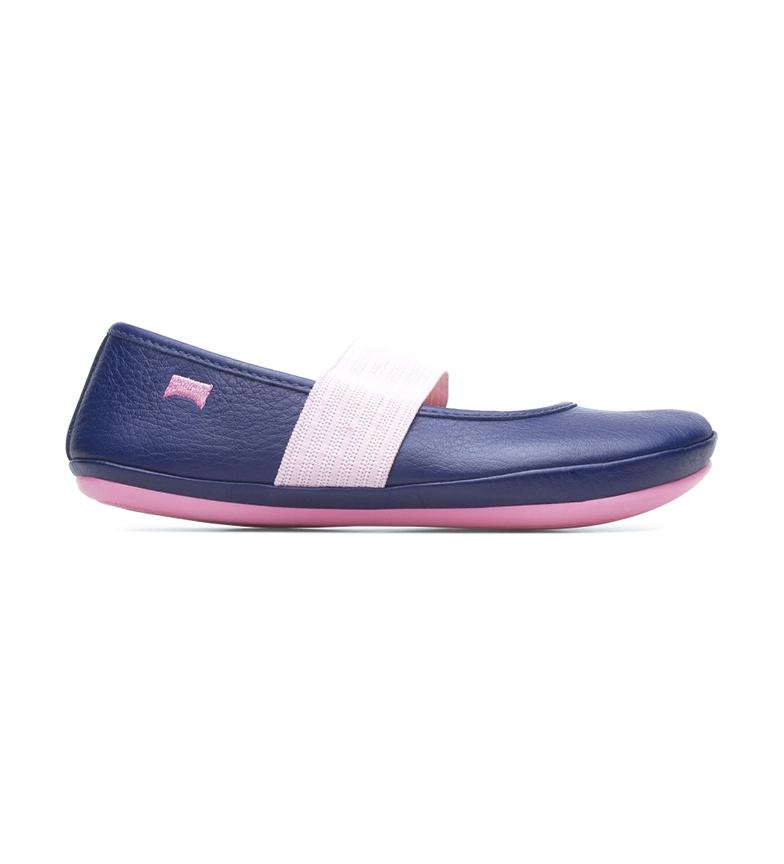Comprar CAMPER Sella Mattress / Kito Spear chaussures en cuir bleu