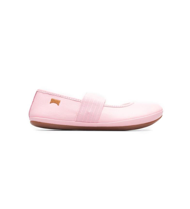 Comprar CAMPER Sella Mattress / Kito Spear chaussures en cuir rose