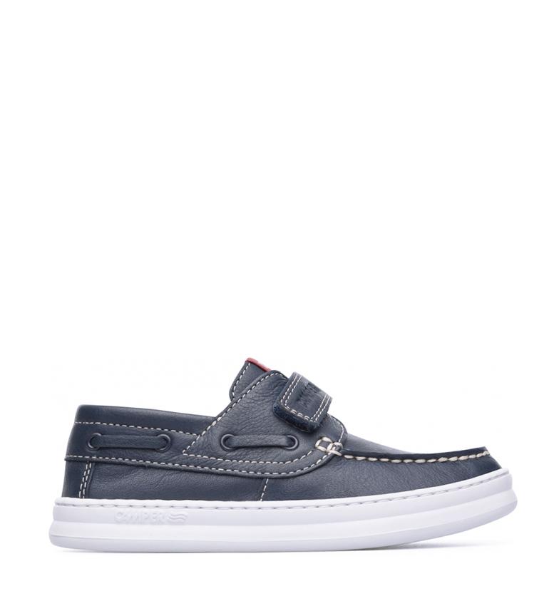 Comprar CAMPER Zapatos de piel Runner marino