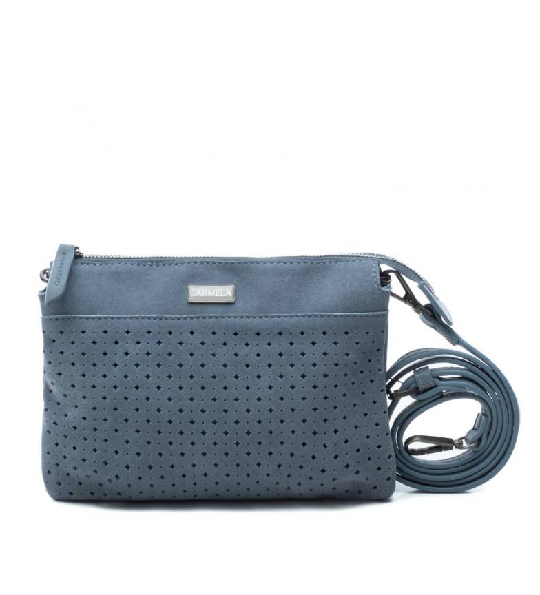 Comprar Carmela Bolso de piel 086090 jeans -16x23x5cm-