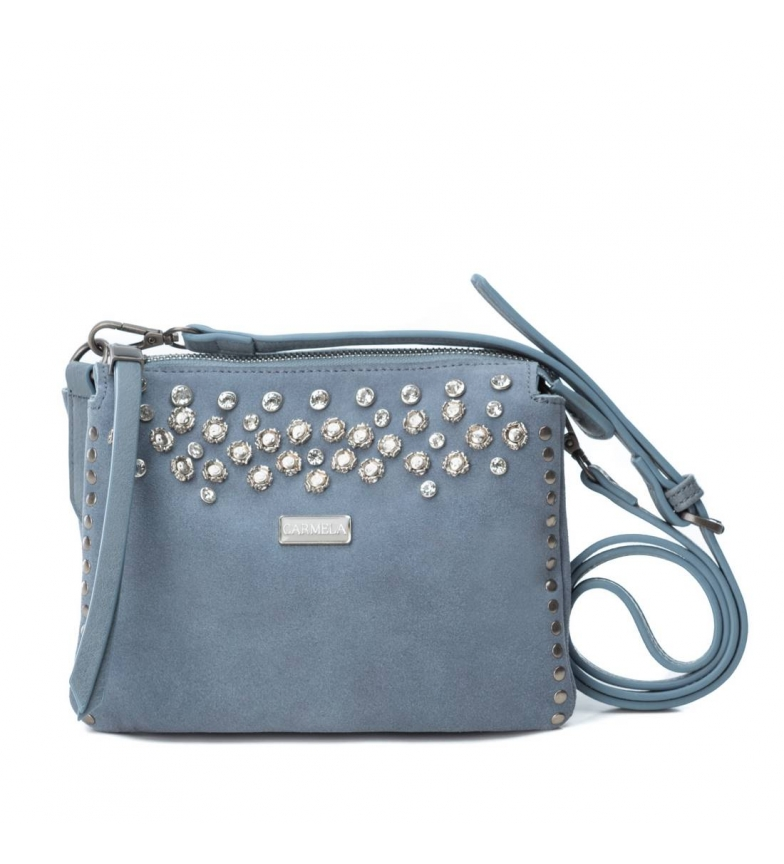 Comprar Carmela Bolso de piel 086104 jeans -16x20x6cm-