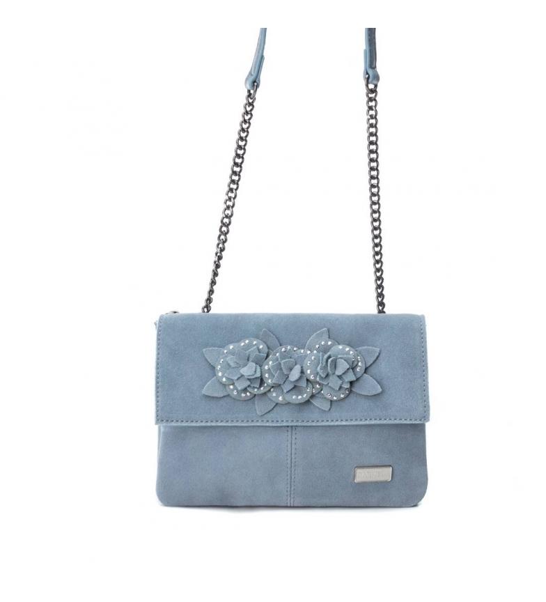 Comprar Carmela Bolsa de couro 086117 jeans -15x21x4cm