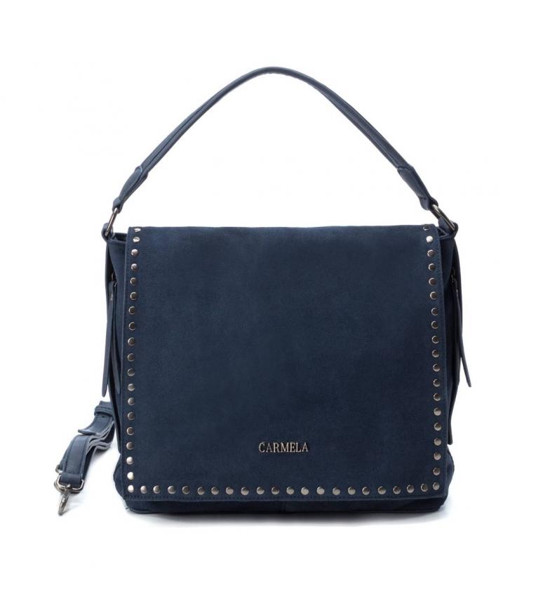Comprar Carmela Leather bag 083303 marine -8x28x28cm