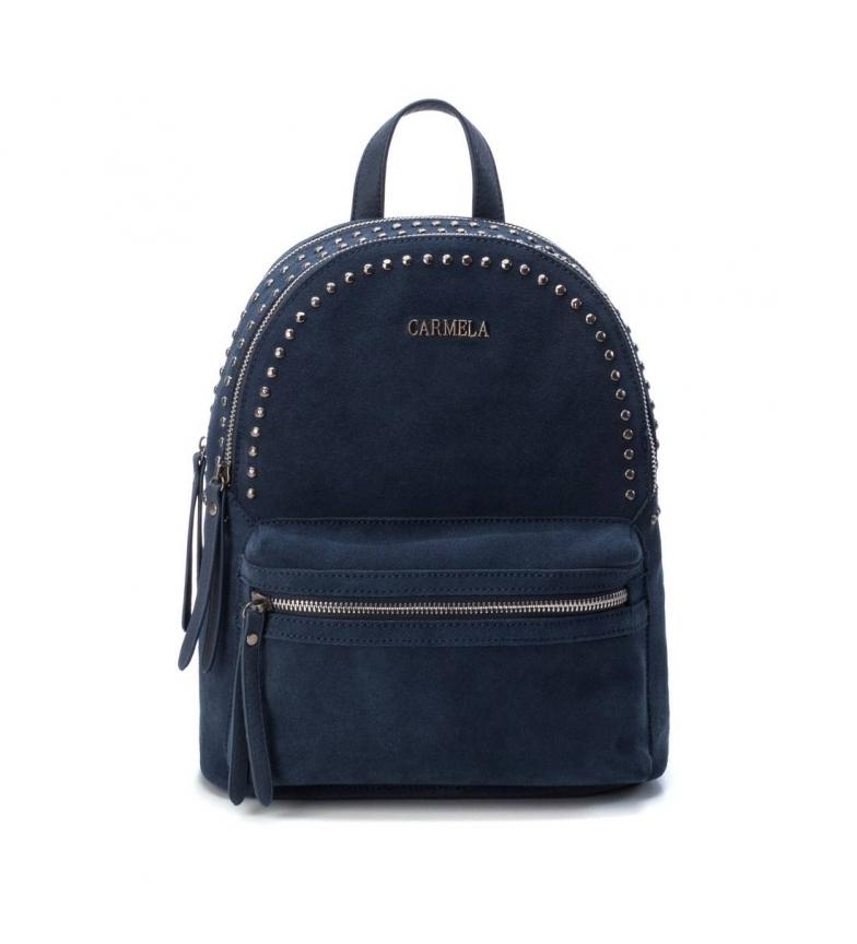 Comprar Carmela Sac à dos en cuir 083314 noir -14x27x32cm