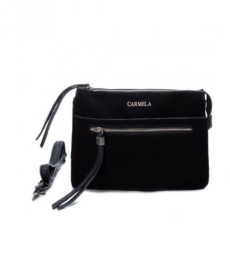 Comprar Carmela Saco de couro 086400 preto -21x26x8cm