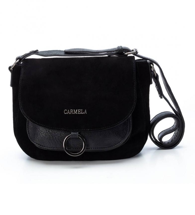 Comprar Carmela Sac en cuir 086404 noir -26x30x8cm