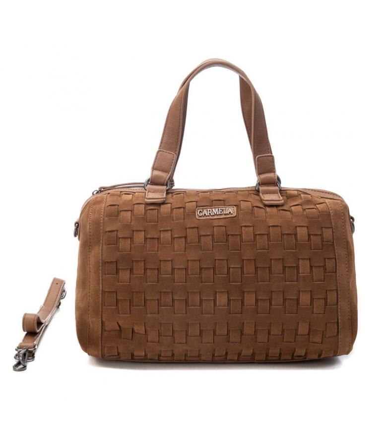 Comprar Carmela Handbag 086516 -22 x 32 x 16 cm-brown, camel