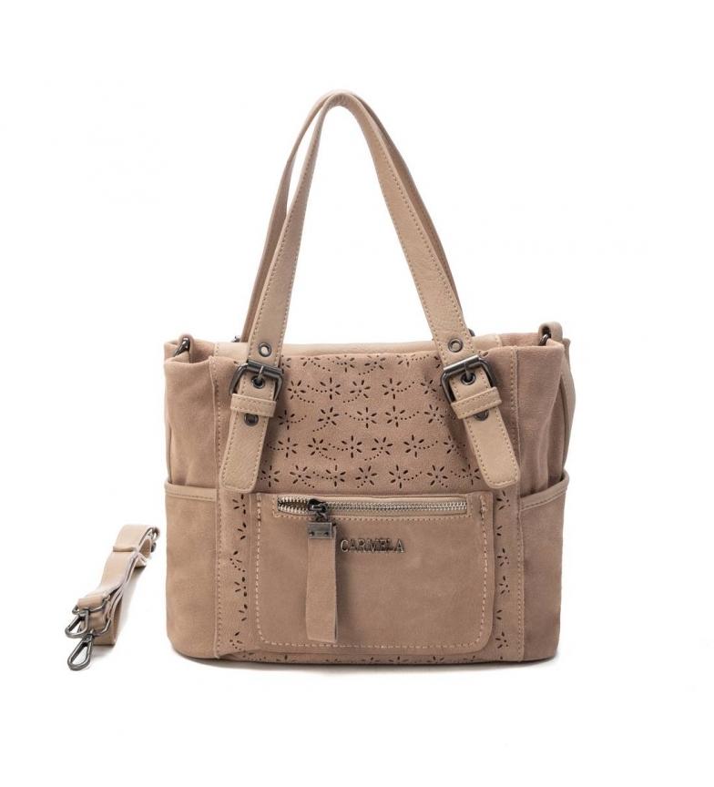 Comprar Carmela Handbag 086523 -23 x 30 x 14 cm- beige