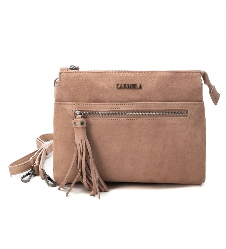 Comprar Carmela Sac à main en cuir 086530 nude -19x25x8cm