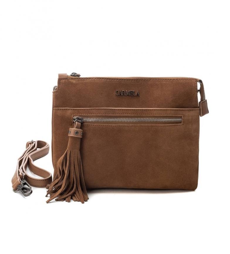 Comprar Carmela Leather bag 086530 camel -19x25x8cm