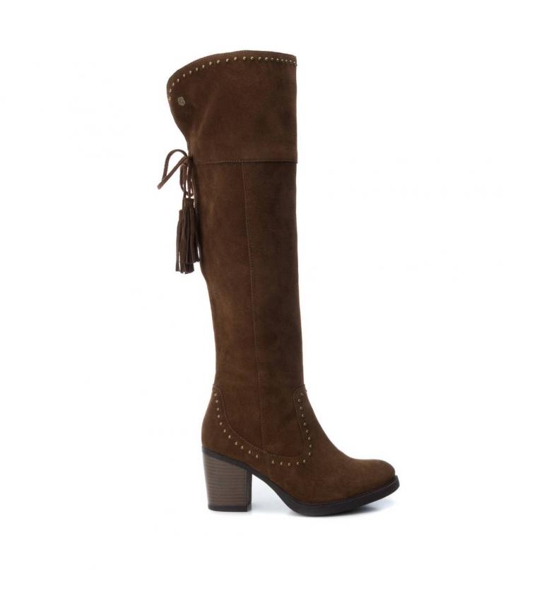 Comprar Carmela Botte en cuir 066375 camel-Talon talon: 8cm-
