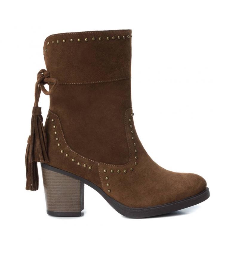 Comprar Carmela Bota de piel 066397 camel