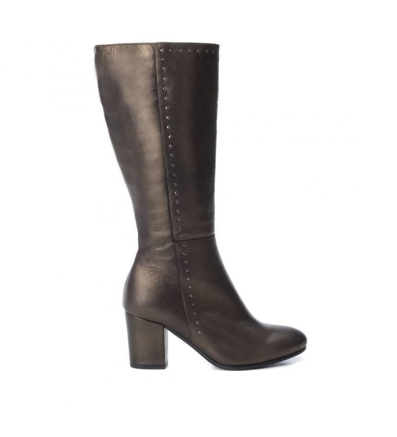Comprar Carmela Leather boots 066567 -Heel height: 7cm