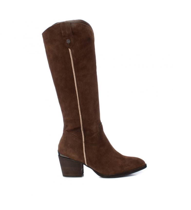 Comprar Carmela Bottes en cuir 067058 - Hauteur du talon : 4cm